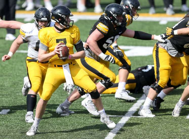 What to watch at the 2nd Iowa football open spring practice