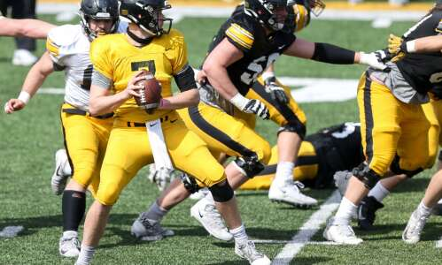 What to watch at the 2nd Iowa football open spring…