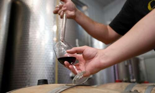 Iowa winemaker's guide to wine tasting: There are no rules