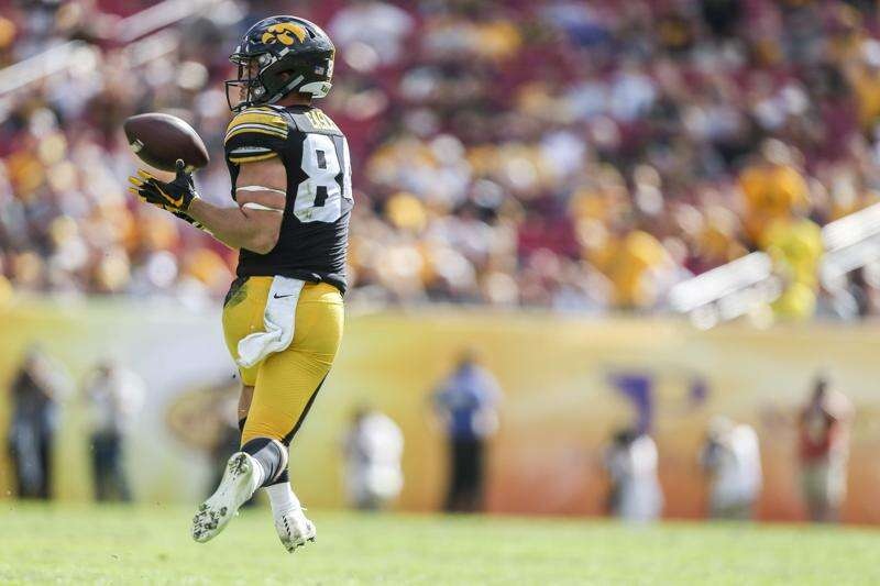 Nick Easley's 'right on time and out of nowhere' Iowa football career