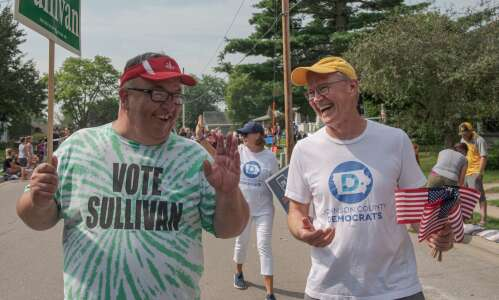 Advice to parading politicians: Don't run out of candy