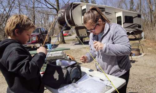 Weekend campsites already elusive at Iowa state parks
