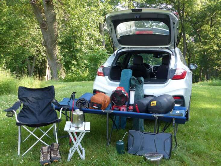 Why RV life isn't for these senior tent campers