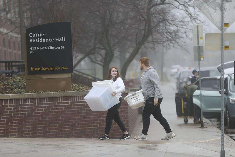 Dorms at Iowa universities lose tens of million in pandemic