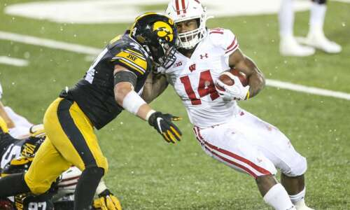 Why spring football reps are important for Iowa's letter-winning linebackers