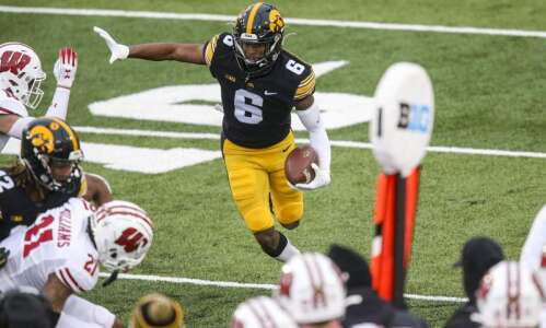 Iowa receiver Ihmir Smith-Marsette declares for NFL draft
