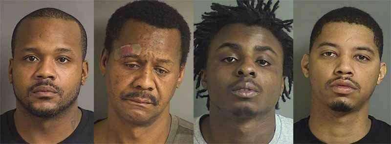Four arrested in Coralville burglary investigation