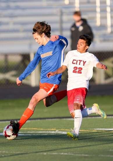 Photos: Cedar Rapids Prairie vs. Iowa City High, Iowa high school boys' soccer