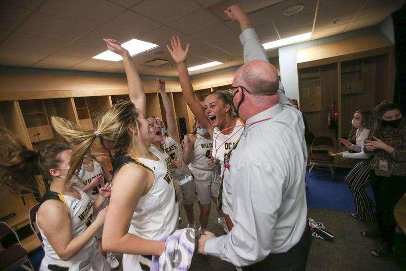 Photos: Maquoketa Valley vs. Nodaway Valley, Iowa Class 2A girls' state basketball semifinals