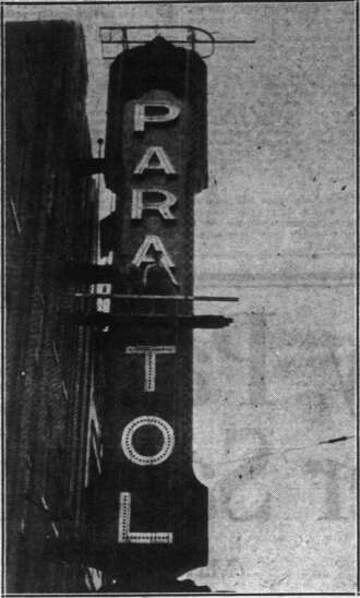 Time Machine: The Capitol Theatre lasted a year before it became the Paramount