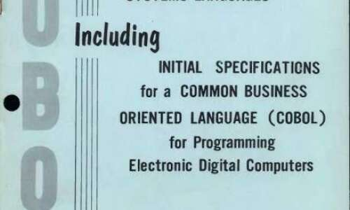 COBOL programming language behind Iowa's unemployment system over 60 years…