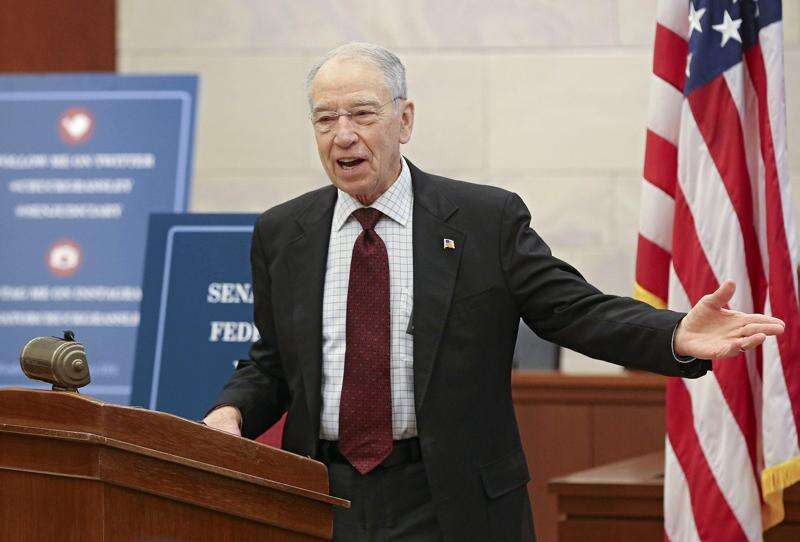 Grassley wasn't aware of memo outlining Trump plan to reject results of Electoral College