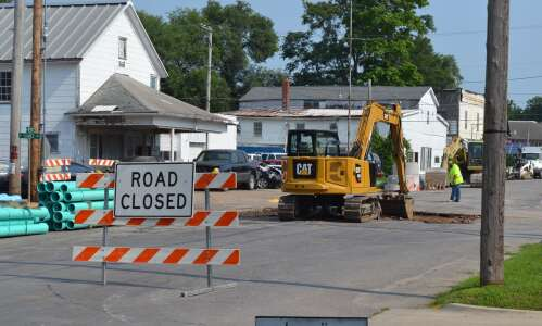Fourth Street in Fairfield closes