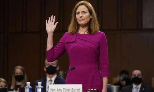 Amy Coney Barrett confirmed as Supreme Court justice in partisan…