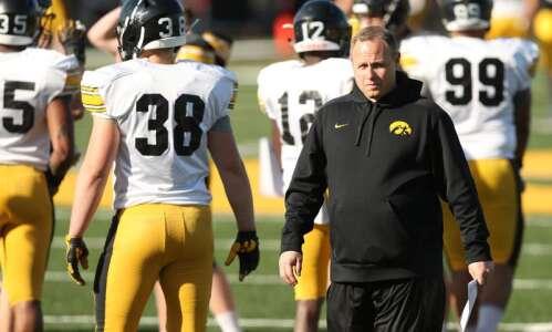 Seth Wallace on Iowa linebackers, recruiting, his big break in…