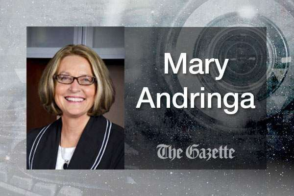 Iowa Regent Mary Andringa to resign