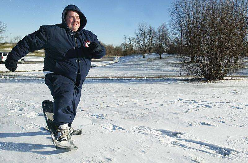 If the (snow)shoe fits, get outdoors for some exercise