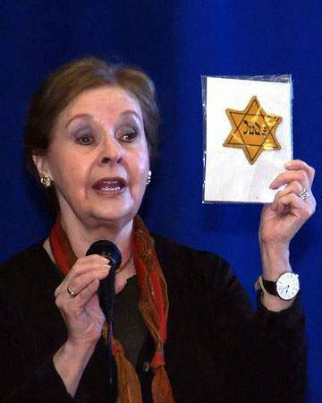 Holocaust survivor shares firsthand account of what can happen when people blindly follow a leader and persecute others