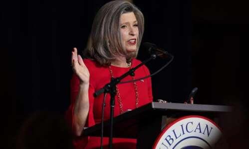 Watchdog files lawsuit against group backing Iowa Sen. Joni Ernst