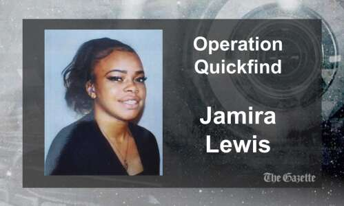 (CANCELED) Quickfind issued for 19-year-old Cedar Rapids woman