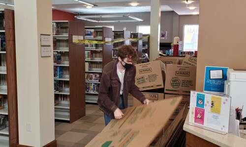 Recarpeting will disrupt service at Washington Public Library