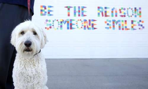 Garage door messages offer inspiration and a chuckle in Robins