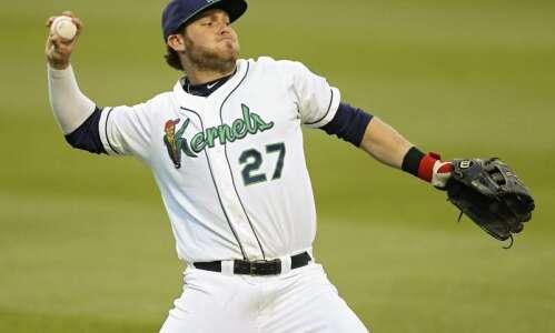 Shane Carrier returns to Cedar Rapids Kernels as different hitter