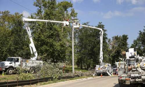 Fewer than 150 in Linn County without power more than…