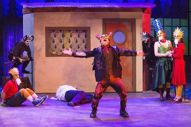 Post-apocalyptic play brings The Simpsons to University of Iowa