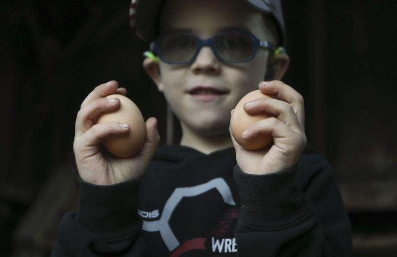 Washington boy faces fading vision, hearing