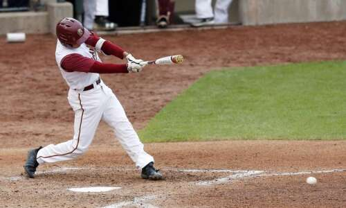 T.J. Johnson powers Coe baseball to conference tournament victory