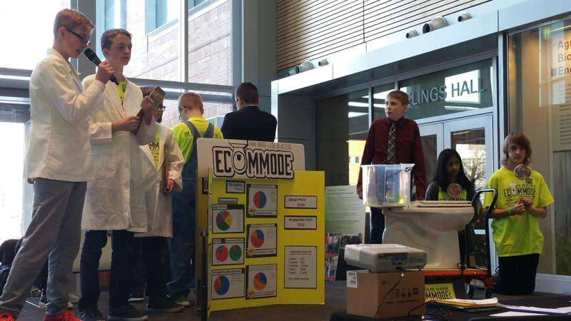 Oak Ridge Middle School students' toilet concept could pass muster