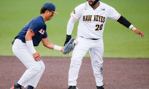 Photos: Big Ten Baseball--Illinois at Iowa