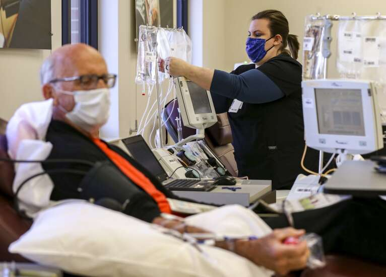 Iowa blood supply at critically low levels