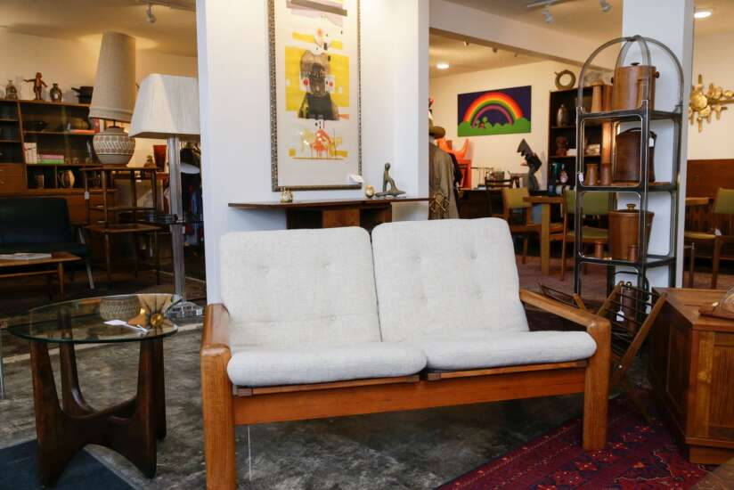 Iowa City vintage shop Ulysses Modern specializes in mid-century modern