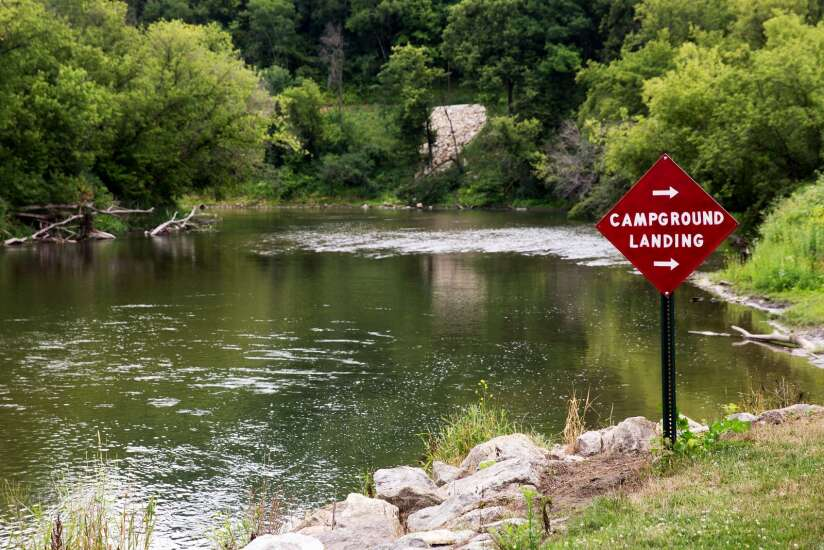 Camping in Iowa's trout country