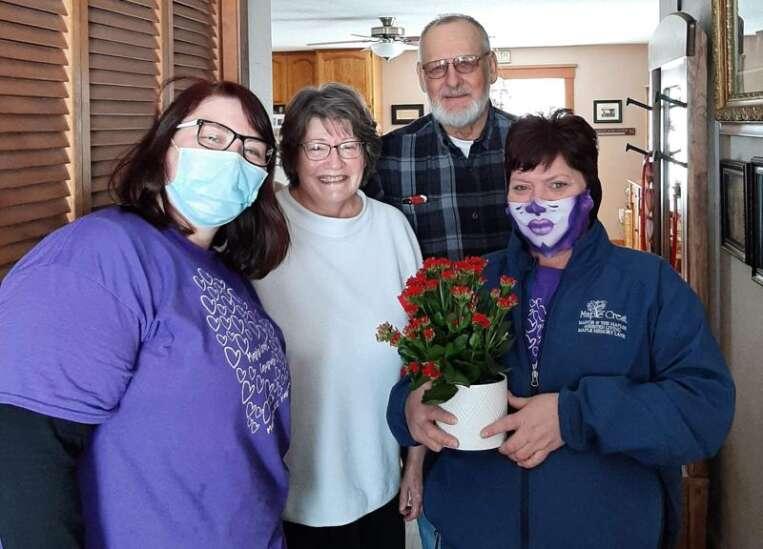 Fayette care group delivers Valentine's cheer to brighten dark year