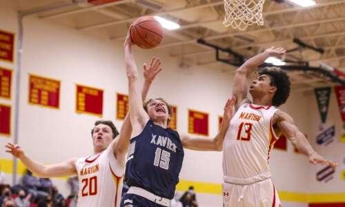 Photos: Cedar Rapids Xavier vs. Marion, Class 3A Iowa high…