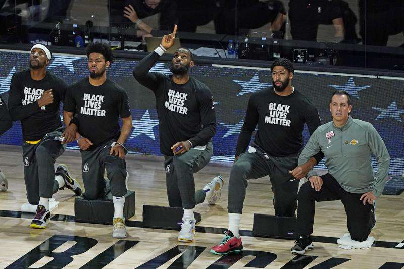 Opinion: How NBA players withheld their labor in pursuit of justice