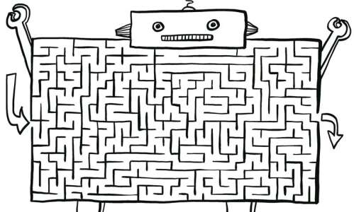 Escape the maze: Do the robot