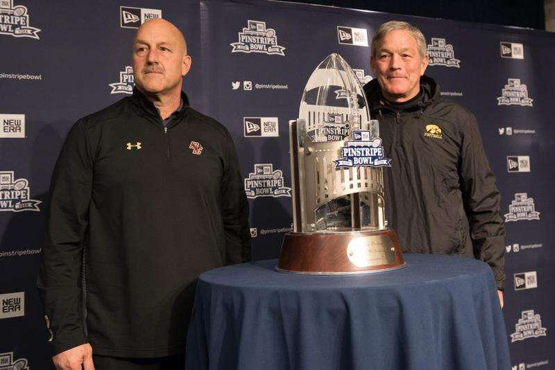Coaching against Iowa in a bowl leads to job insecurity