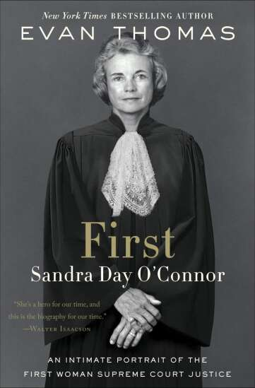 REVIEW   'First: Sandra Day O'Connor'