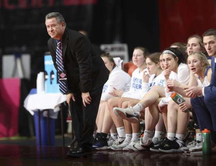 Photos: Jesup vs. Dike-New Hartford, Iowa Class 3A girls' state basketball quarterfinals