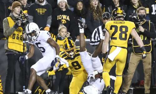 Iowa's most-tantalizing 2021 football games: No. 5 Penn State
