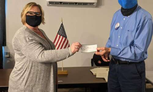 Henry County Democrats donate to child care center