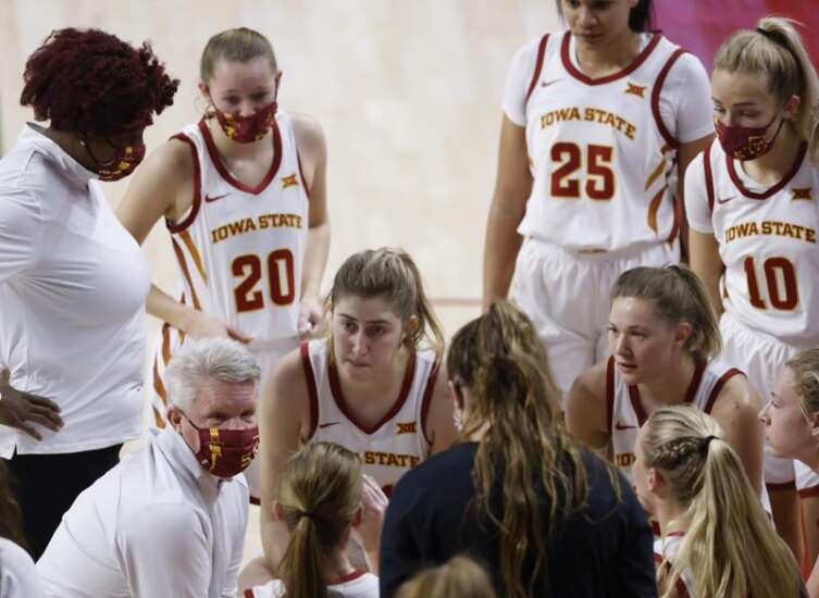 Where Iowa State is projected in NCAA women's basketball tournament