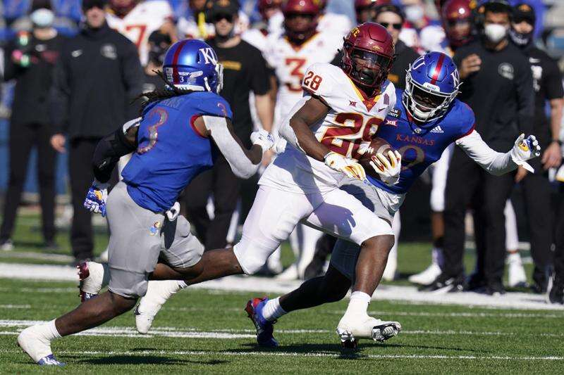 No. 23 Iowa State 52, Kansas 22: Playmakers guide Cyclones to blowout win
