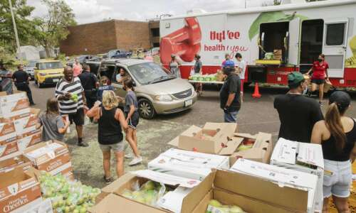 Food distribution a 'godsend' for thousands of residents still without…