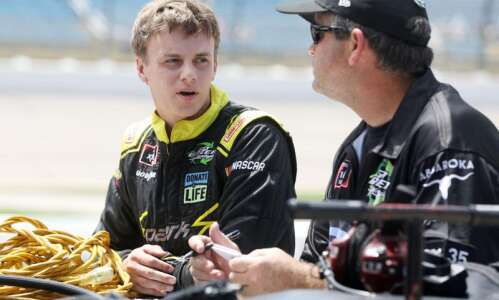 Cedar Rapids driver Joey Gase excited to be racing on…