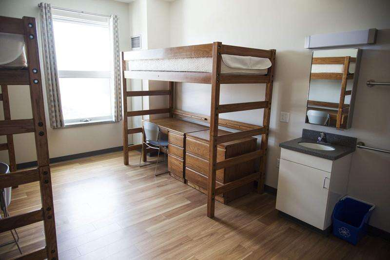 Iowa university residence hall occupancy rates drop